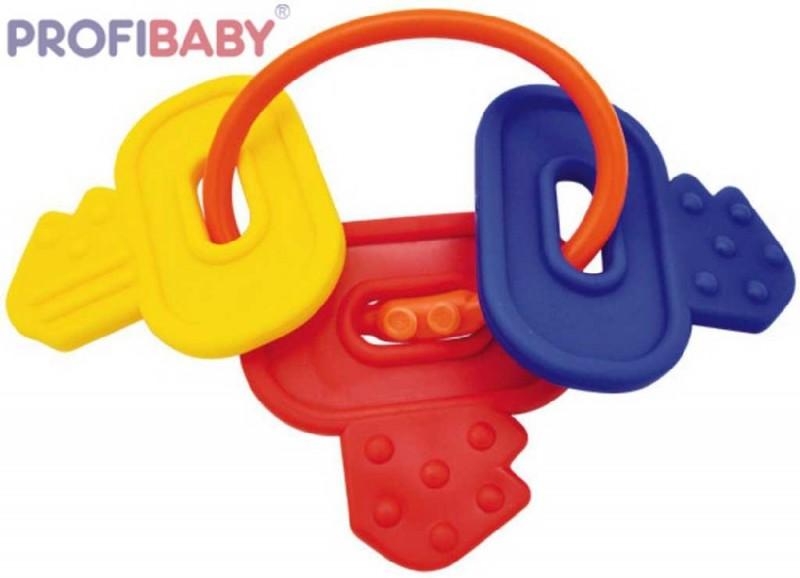 PROFIBABY Baby prívesok plastové kľúče hryzátko Kliknite pre detailný  obrázok c1596a856a0