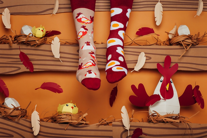 bce1432bbfb Tieto ponožky sú jedinečné svojim dizajnom. Každá je iná