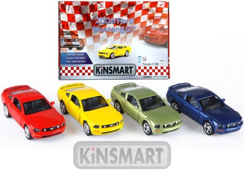d7265f01d3 KINSMART Auto model 1 36 FORD MUSTANG GT 2006 kov PB 13cm 4 farby