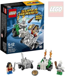 LEGO SUPER HEROES Mighty Micros: Wonder Woman vs. Doomsday STAVEBNICE