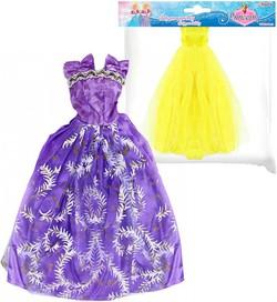 4e2dbeb5e200 Oblečenie šaty pre bábiku 29cm 8 druhov v sáčku