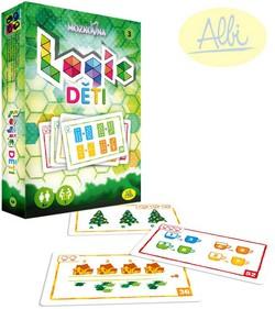 ALBI HRA Mozkovna Logic 3 pre deti kartové hádanky interaktívne 24c8e971d20
