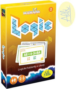 ALBI HRA Mozkovna Logic 2 pre deti kartové hádanky interaktívne 390c60f3e68