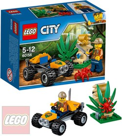 LEGO CITY Bugina do džungle 60156 STAVEBNICA