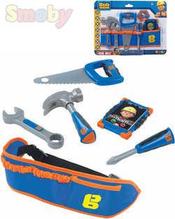 c4fe11fb4 SMOBY Detské pracovné náradie Bob staviteľ set s opaskom a telefónom plast