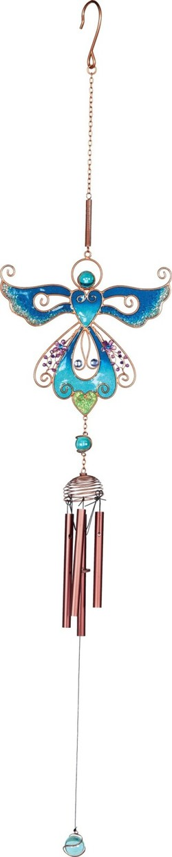 Zvonkohra Blue Angel Wind Chime by Angel star