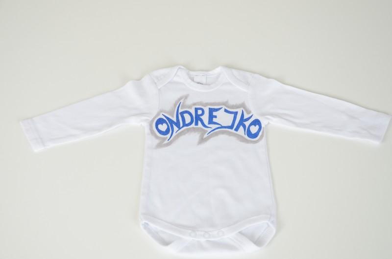 d32641849 Body pre bábätko s menom - podľa Vášho želania