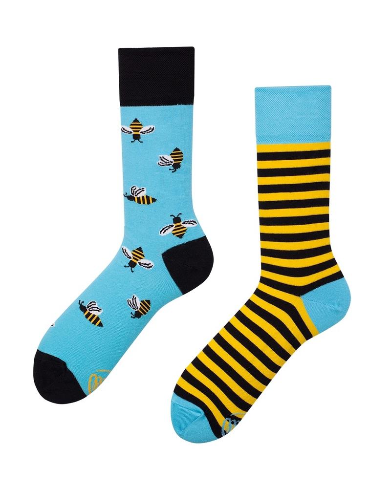 eee852ba0ee Zábavné ponožky Včely